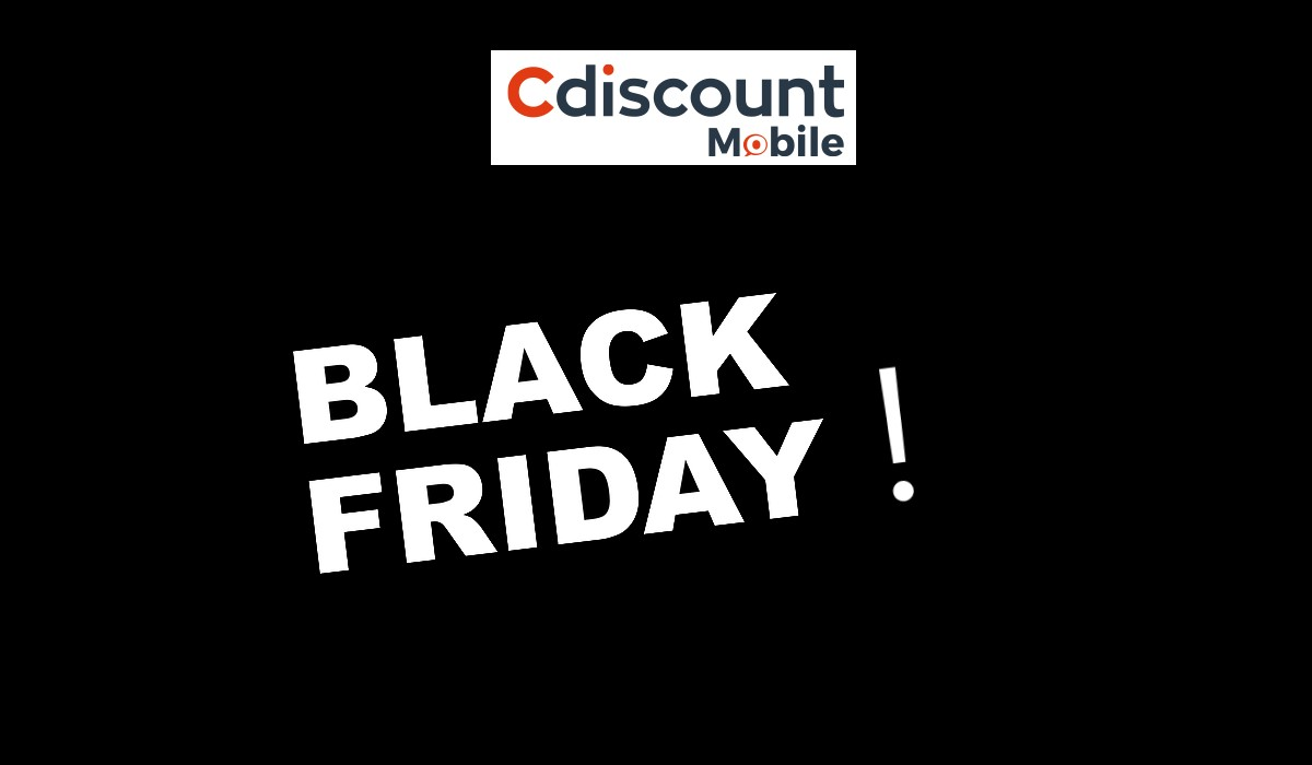 black friday cdiscount mobile