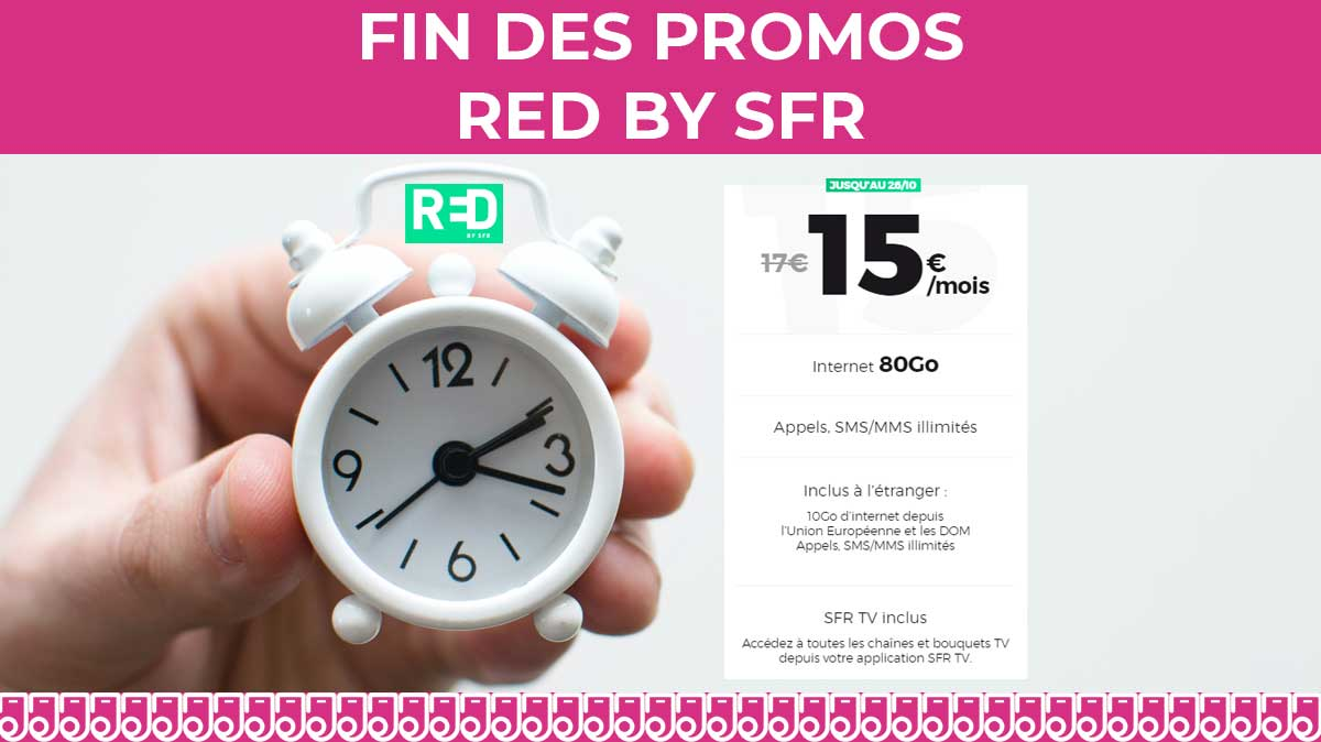 fin promo forfait red