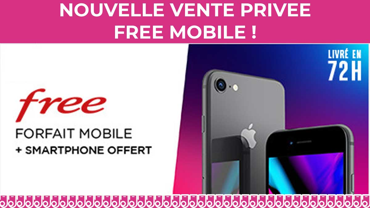vente privée Free mobile
