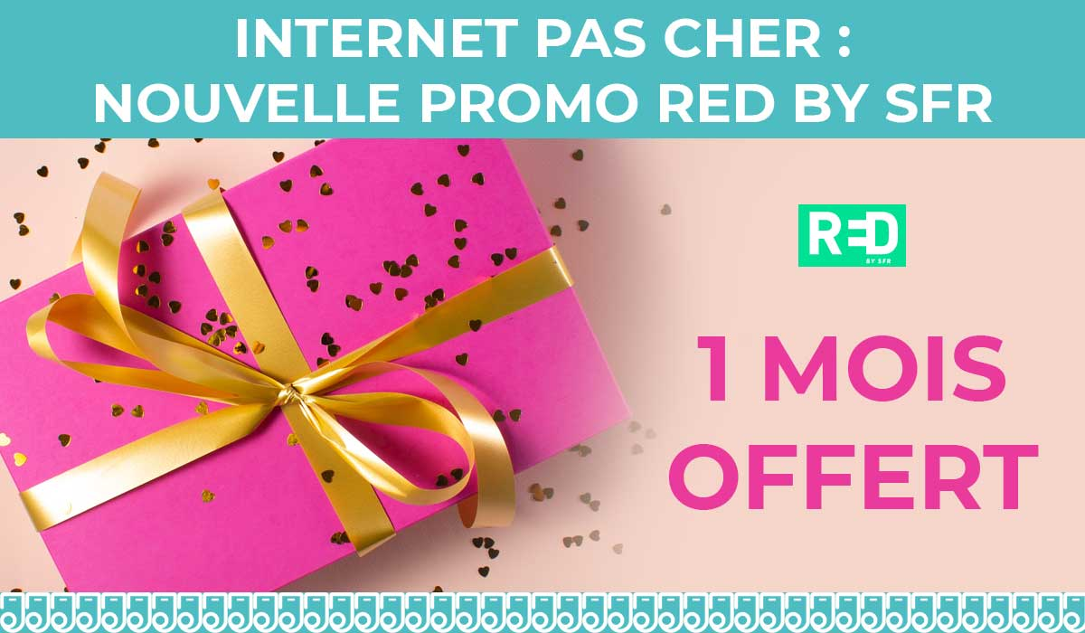 promo box internet red by sfr