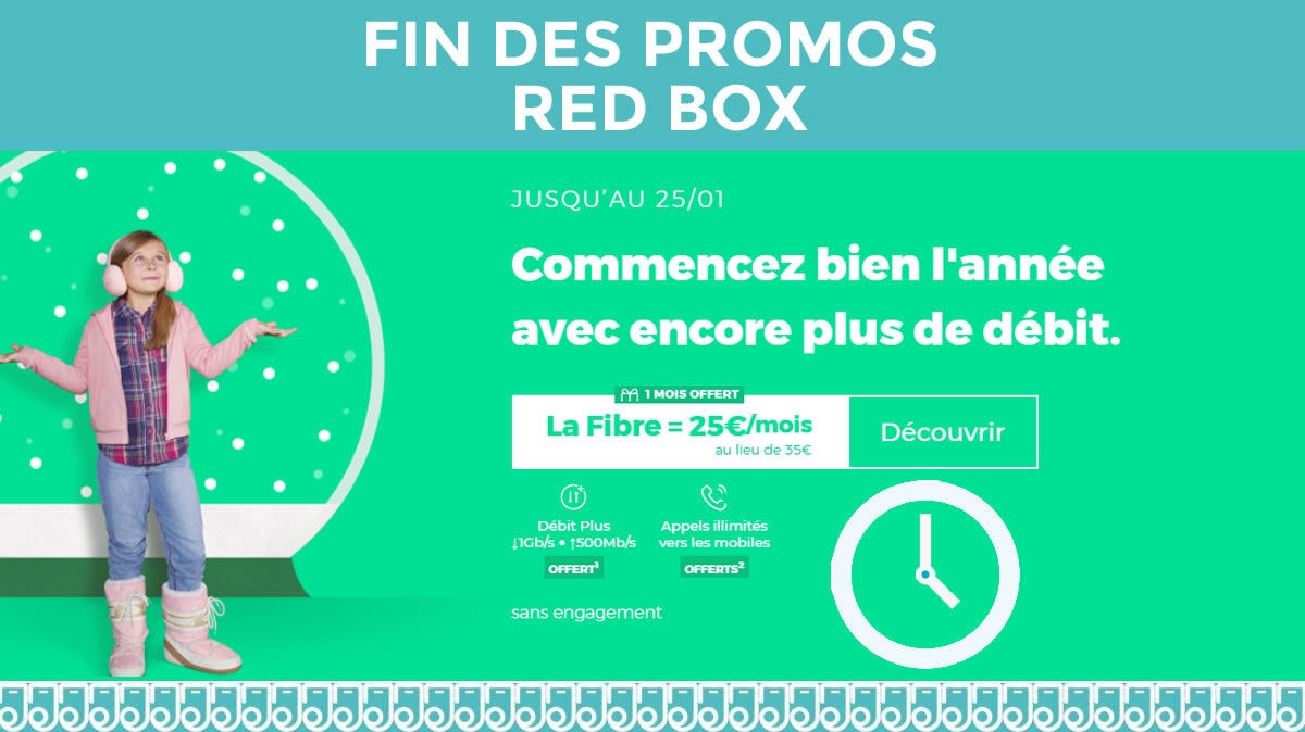 Fin des promos RED Box