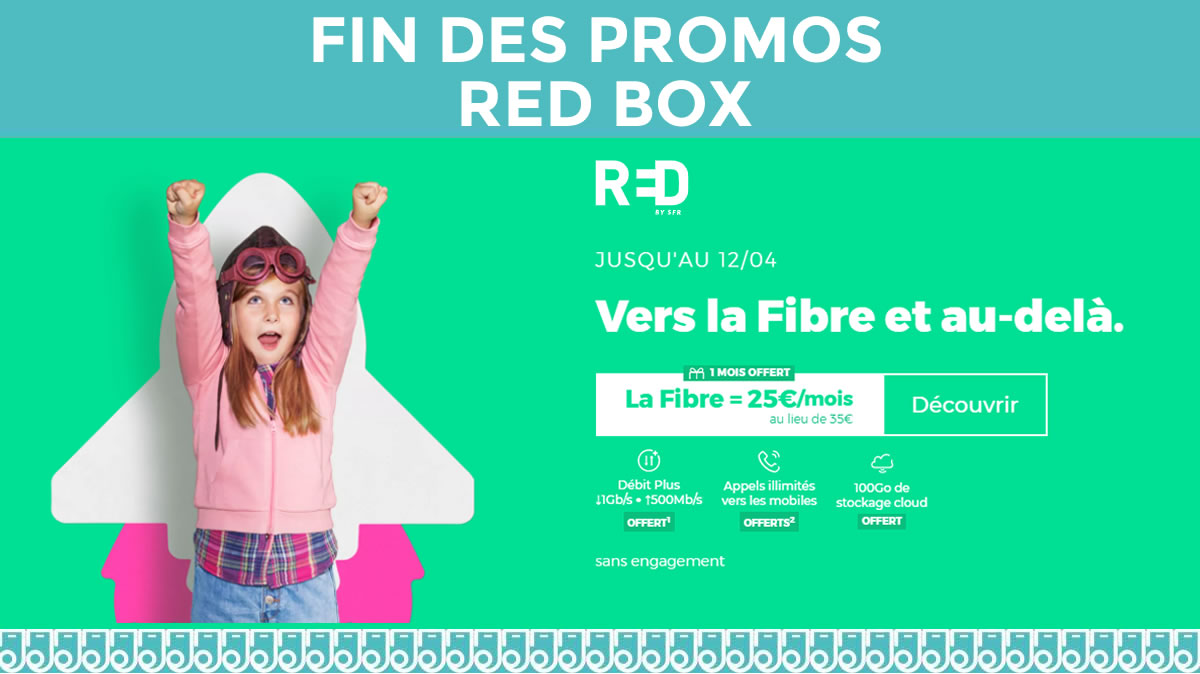 fin de l'offre RED Box 12 avril 2021