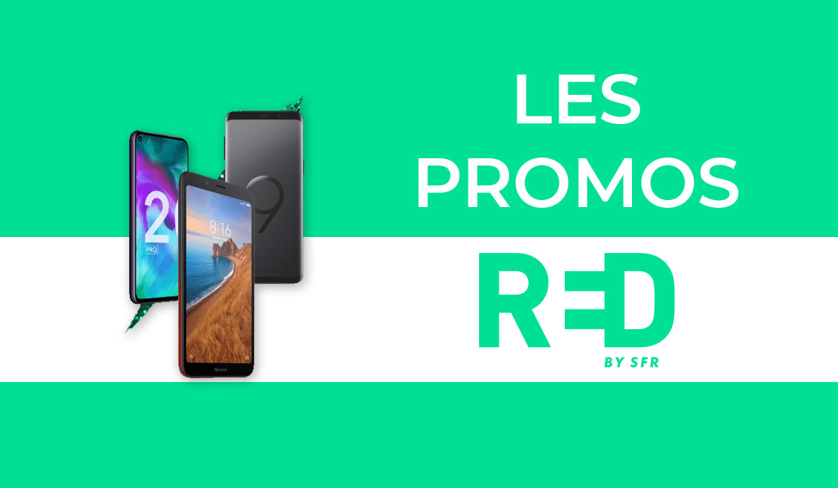 promo smartphone RED by SFR