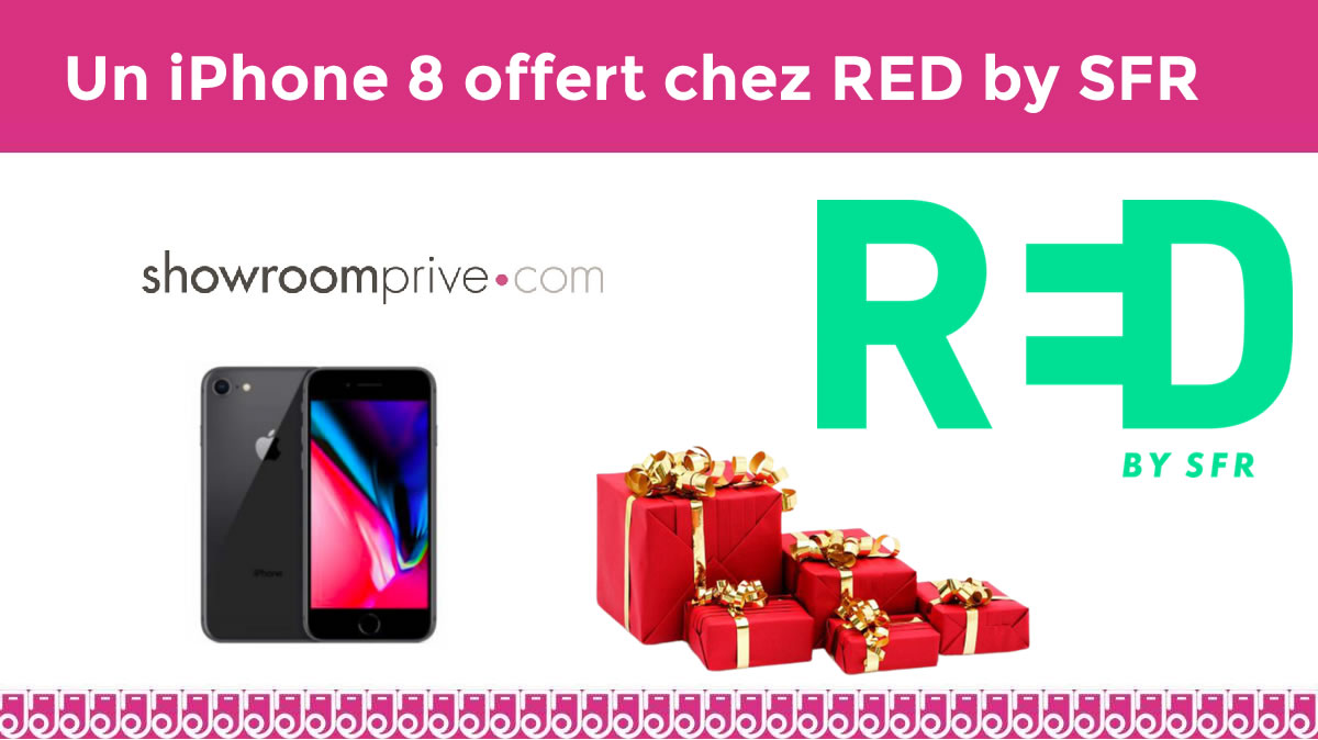 Vente privée iPhone 8 RED by SFR