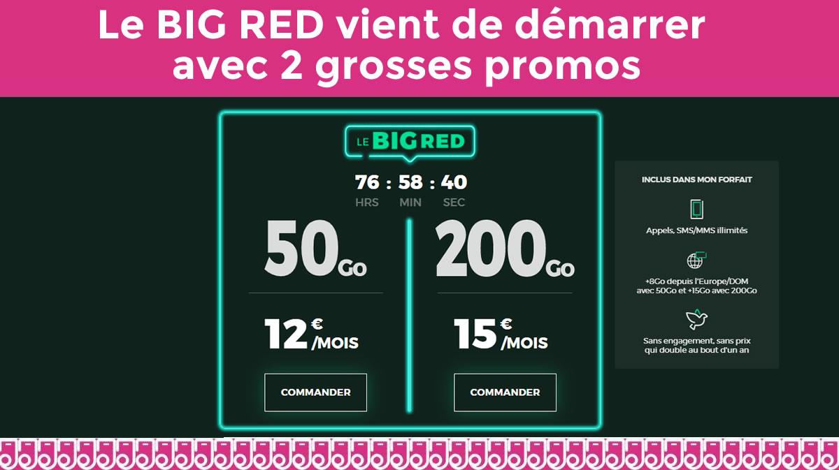 Red By Sfr Devoile Ses Forfaits Du Black Friday Avec 200go A 15 Ou 50go A 12