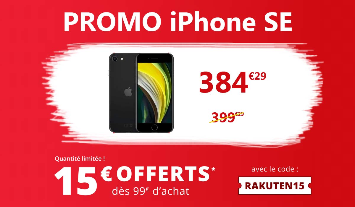 promo iphone chez rakuten