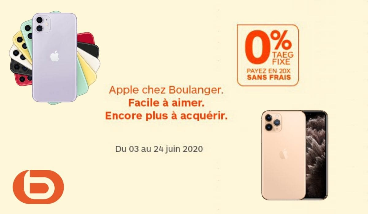 i phone boulanger apple