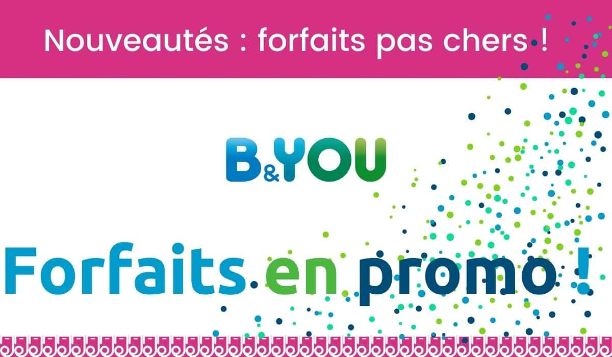 forfait en promo b and you