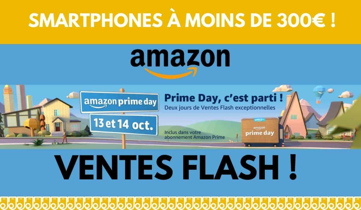 amazon prime day smartphones en promo