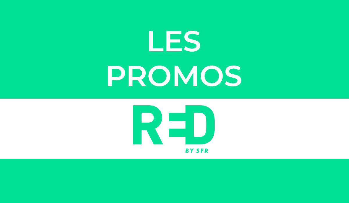 promotions red by sfr : forfaits mobiles pas chers