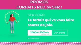 promos forfaits RED by SFR