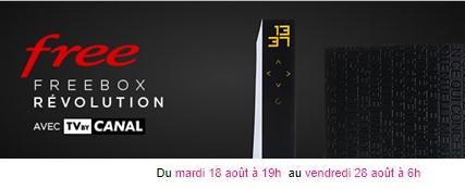 vente privée freebox tv by canal