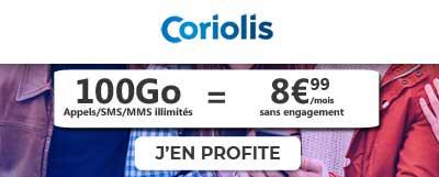 Forfait 100Go Coriolis