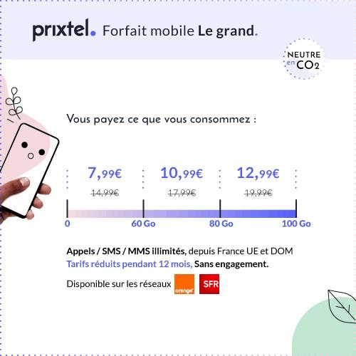 Forfait Le grand promo Prixtel