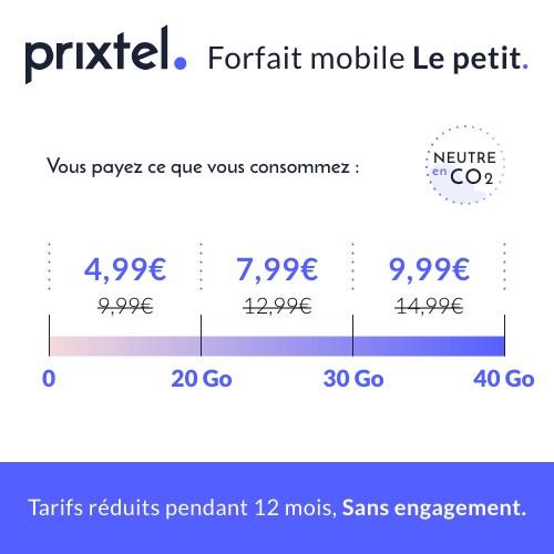 promo forfait Prixtel Le petit