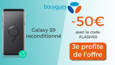 galaxy s9 code promo vente flash