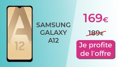 Galaxy A12 RED