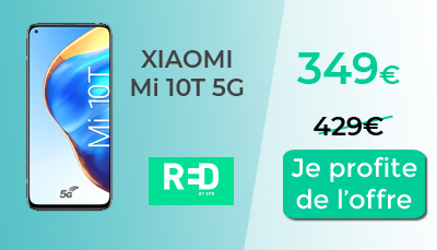 Xiaomi Mi 10 T 5G RED by SFR