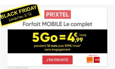 Prixtel Black Friday