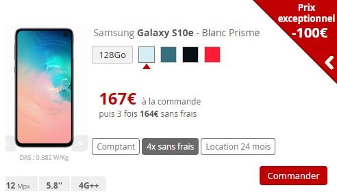 Samsung S10e Free