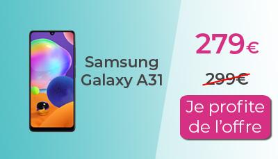 Samsung A31 RED by SFR