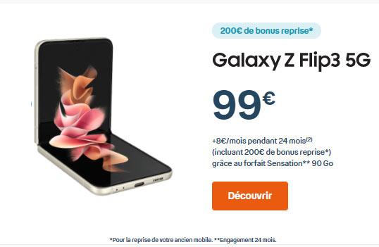 Samsung Zflip3 Bouygues