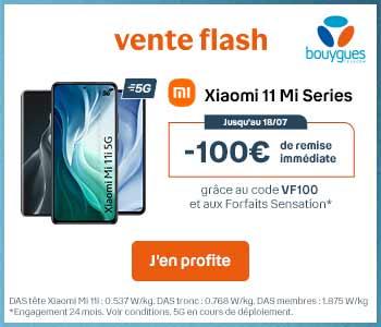VENTE FLASH XIAOMI 11 Mi Serie Bouygues