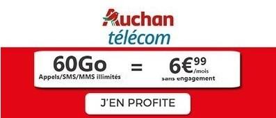 Forfait 60Go Auchan Telecom