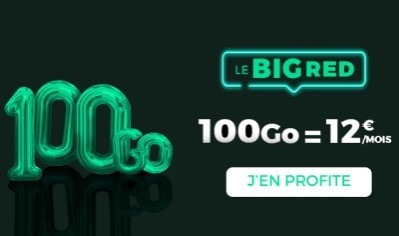 Forfait Big RED 100Go