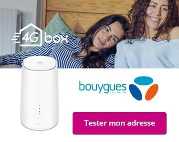 Souscrire à la box 4G Bouygues Telecom
