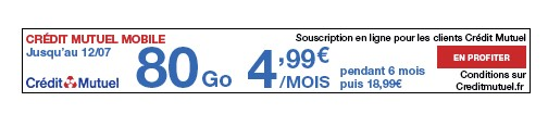 forfait credit mutuel 80Go
