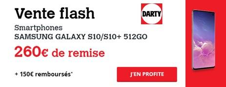 Acheter le Samssung Galaxy S10 en vente flash