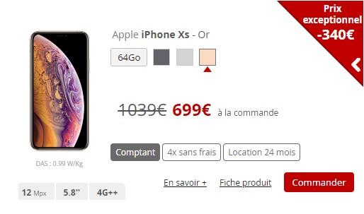 IPhone Xs Free