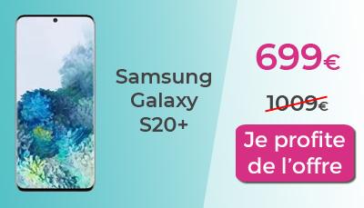 Samsung Galaxy S20+ Cdiscount