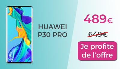 Huawei P30 pro pas cher