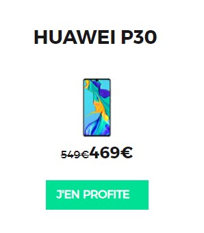 Huawei P30 RED by SFR
