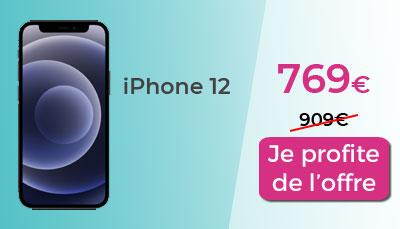 iPhone 12 en promo chez Amazon