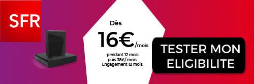 Box SFR à 16€