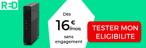 offre internet sans engagement red by sfr