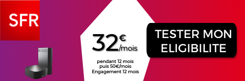 TV + Box Internet chez SFR
