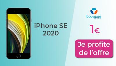 iPhone SE 2020 à 1 euro