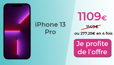iPhone 13 pro promo