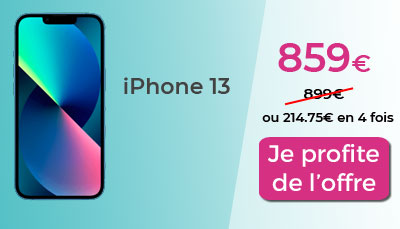 iPhone 13 promo RED