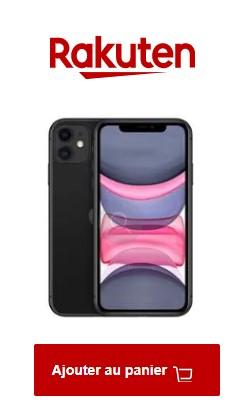 Acheter l'iPhone 11 chez Rakuten