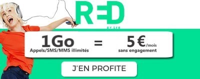 Forfait RED 1Go