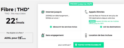 Tester ma ligne chez RED by SFR