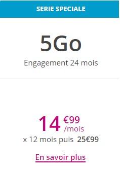 Sensation 5Go Bouygues Telecom