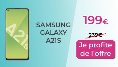 Galaxy A21s Promo