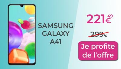 promo galaxy a41