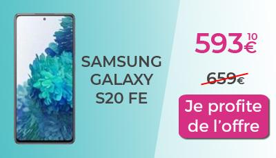 promo galaxy S20 FE